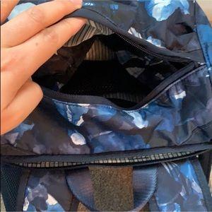 lululemon athletica Bags - Lululemon Traveling Yogini rucksack inky floral